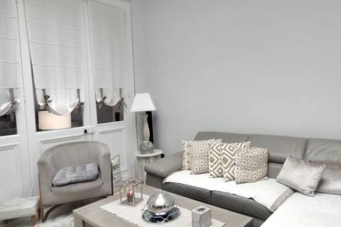 Chambre 14m2 - Maison rénovée avec terrasse en colocation 4 chambres - Roubaix Eurotéléport