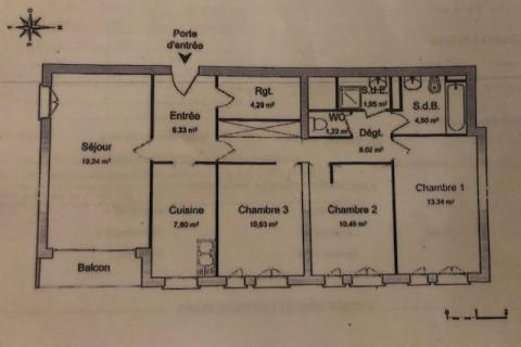 3 chambres dans nouvelle colocation meublée Poitiers